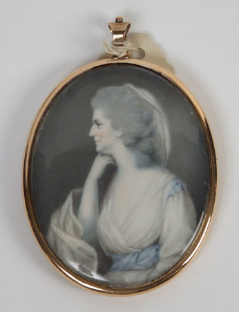 An Unknown Lady in a White Dress