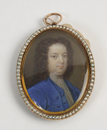 An Unknown Man in a Blue Coat
