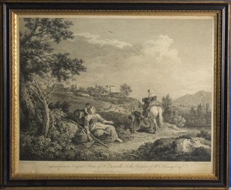 Pastoral Scene (after Francesco Zuccarelli)