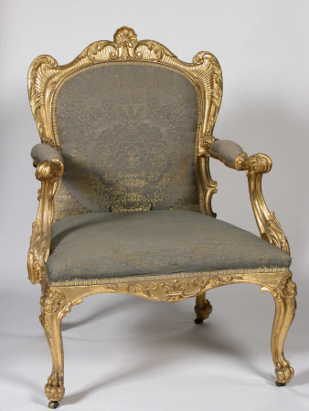 'The Powis Castle giltwood seat furniture'