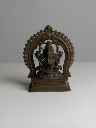 The Hindu Elephant-headed God Ganesha