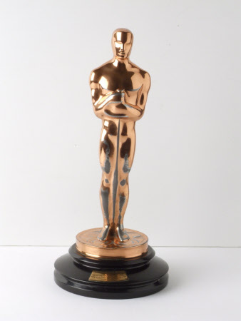 An 'Oscar' Statuette of the Academy Award of Merit from the American Academy of Motion Picture Arts ...
