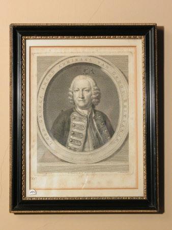 Admiral Sir George Anson, Baron Anson of Soberton (1697-1762) (after Jan Wandelaar)