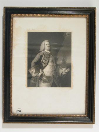 Admiral Sir George Anson, Baron Anson of Soberton (1697-1762)