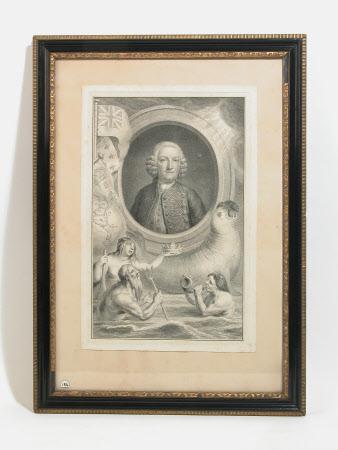 Admiral Sir George Anson, Baron Anson of Soberton (1697-1762) (after Jan Wandelaar )