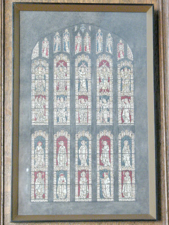 The Angel Hierarchy and Saints: Jesus College Chapel Window Design