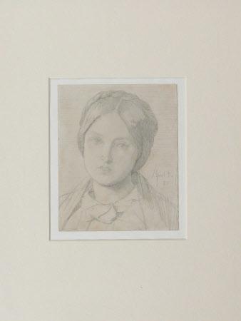 Portrait of Emma Madox Brown (?)