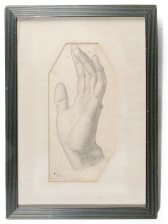 Study of a Man's Left Hand
