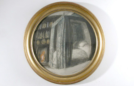 Dante Gabriel Rossetti's Bedroom at Tudor House, 16 Cheyne Walk