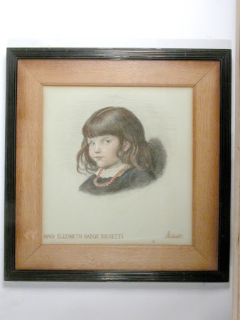 Mary Elizabeth Madox Rossetti as a Child