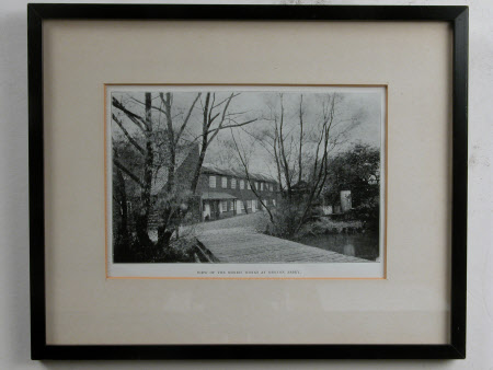 View of the Morris works at Merton Abbey print