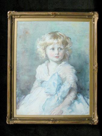 Mavis Flora Rosalind Mander (1908 - 1953), as a child