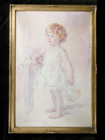 Elizabeth Bréhaut Mander (1916 - 2005), as a small child
