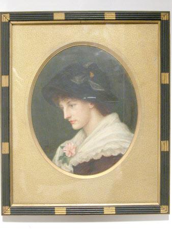 Constanza Mazini, Mrs William Hulton (1863-1939)
