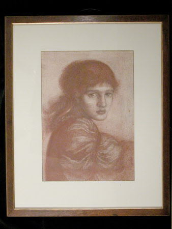 Study of a Girl, probably Maria Zambaco