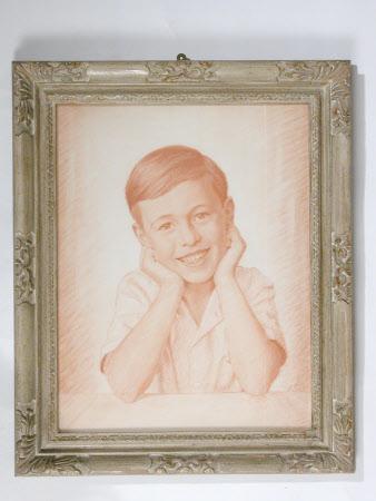 John Geoffrey Grylls Mander (1932 -1978) as a Young Boy