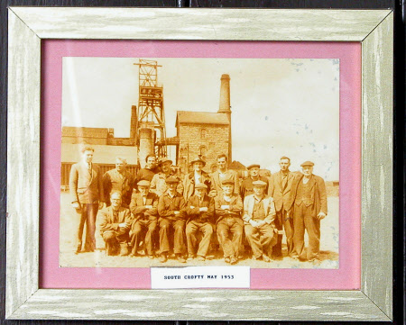 Miners at South Crofty Mine May 1953