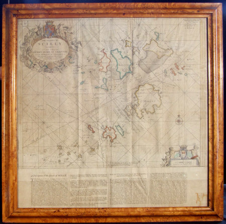 Map - Chart of the Isles of Scilly
