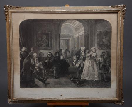 Dr Samuel Johnson (1709-1784) awaiting an audience of Lord Chesterfield (after Edward Matthew Ward)