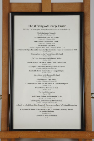 List of the published works of George Ensor (1769-1843)