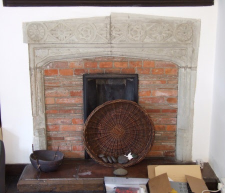 Chimneypiece, South Wing Spare Bedroom 2, Stoneacre