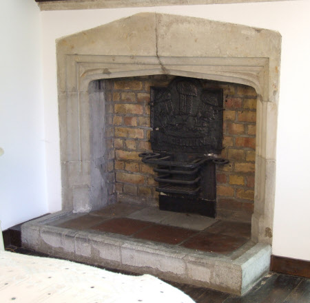 Chimneypiece, South Wing Spare Bedroom 1, Stoneacre
