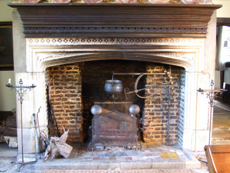 Chimneypiece, Great Hall, Stoneacre