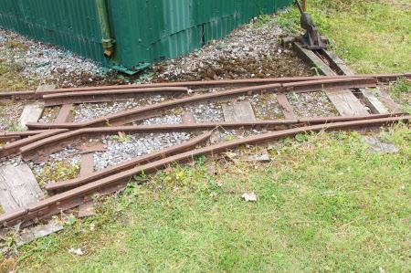 Rail points