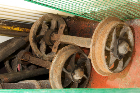 Tub truck wheel