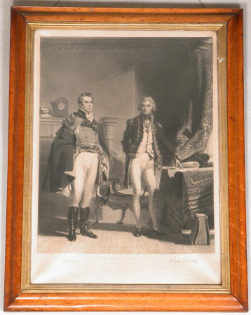 The Army and the Navy: Arthur Wellesley, 1st Duke of Wellington, KG, KB, MP (1769-1852) and Horatio ...