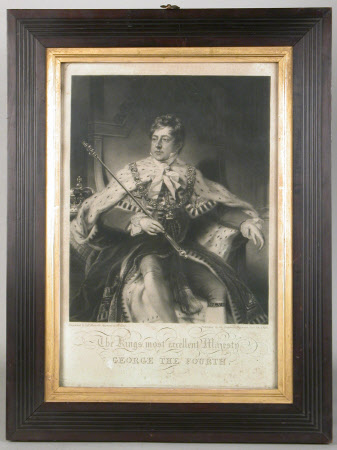 King George IV (1762-1830) in Coronation Robes (after Thomas Phillips)