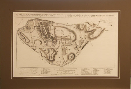 A Survey of the House, Gardens & Park of Claremount. One of the Seats of the Right Honble. Lord ...