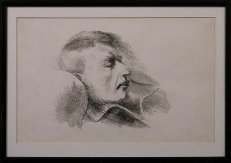 Leonard Sidney Woolf (1880-1969) Sleeping