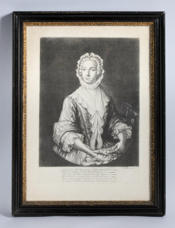 Prince Charles Edward Stuart 'The Young Pretender' (1720-1788) disguised as Betty Burke after his ...