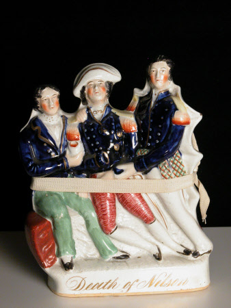 Balston Collection of Staffordshire figures © National Trust / Catriona Hughes