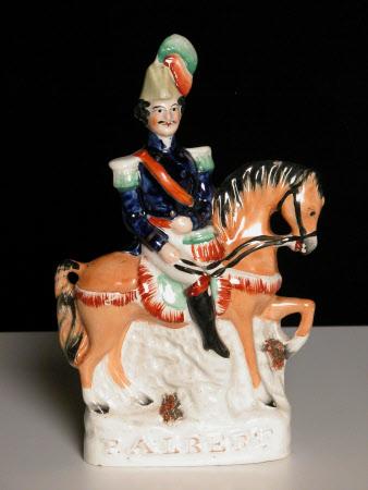 Prince Albert, Prince Consort (1819-1861) on Horseback