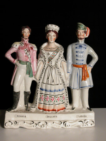 France England Turkey: Emperor Napoleon III, Emperor of France (1808-1873), Queen Victoria ...