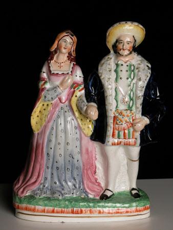 King Henry VIII (1491-1547) and Queen Anne Boleyn (1507–1536)