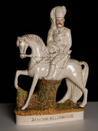 Major-General Sir Hector MacDonald (1853-1903) on Horseback