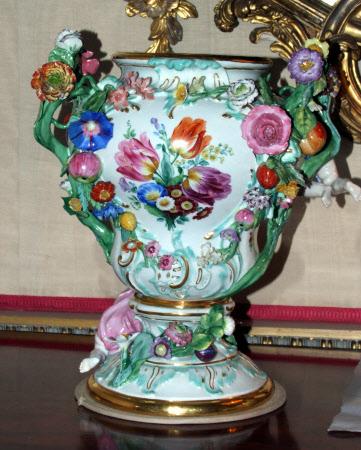Pot pourri vase