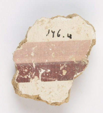 Wall plaster fragment