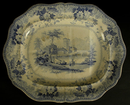 Carving plate