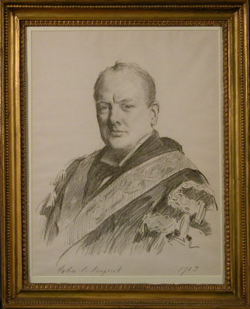 Sir Winston Churchill, KG, DL, OM, CH, PC, MP (1874-1965)