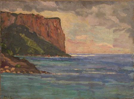 Mediterranean Coast Scene