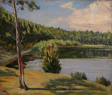 Lake Scene in Norfolk