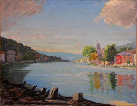 Scene on the River Meuse