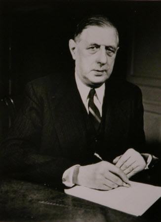 Charles de Gaulle (1890-1970) President of France