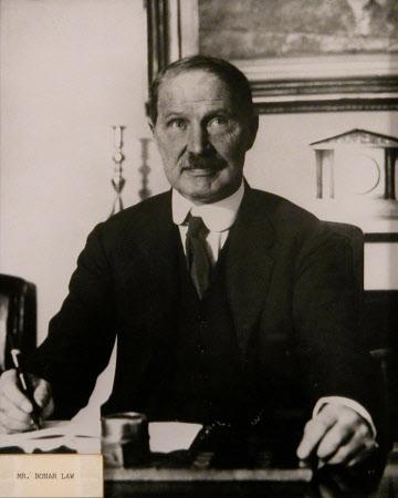 Andrew Bonar Law (1858-1923) Prime Minister