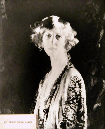 Helen Violet Bonham-Carter, Baroness Asquith of Yarnbury (1887-1969)