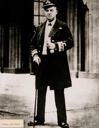 Admiral of the Fleet John Arbuthnot 'Jacky' Fisher, 1st Baron Fisher GCB, OM, GCVO (1841-1920)